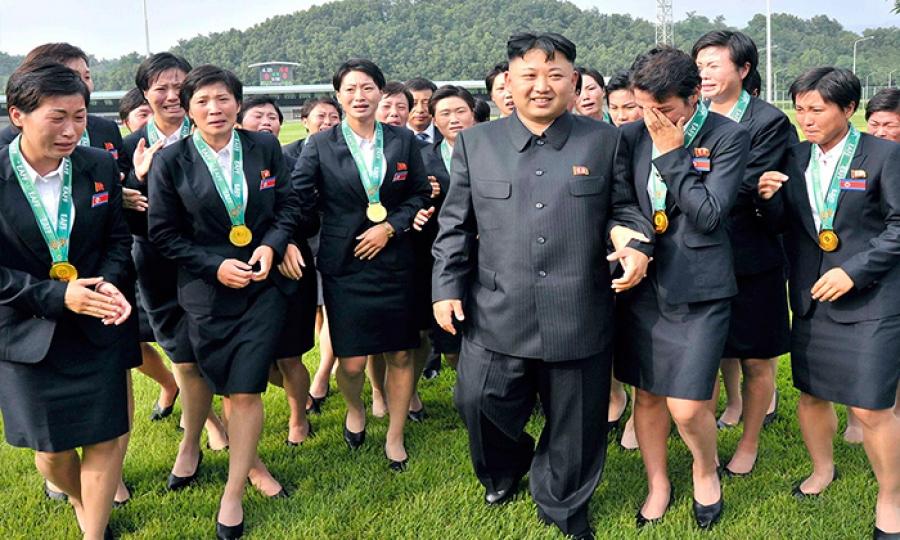 كتيبة المتعة ….في كوريا الشمالية لإمتاع الجنرالات
