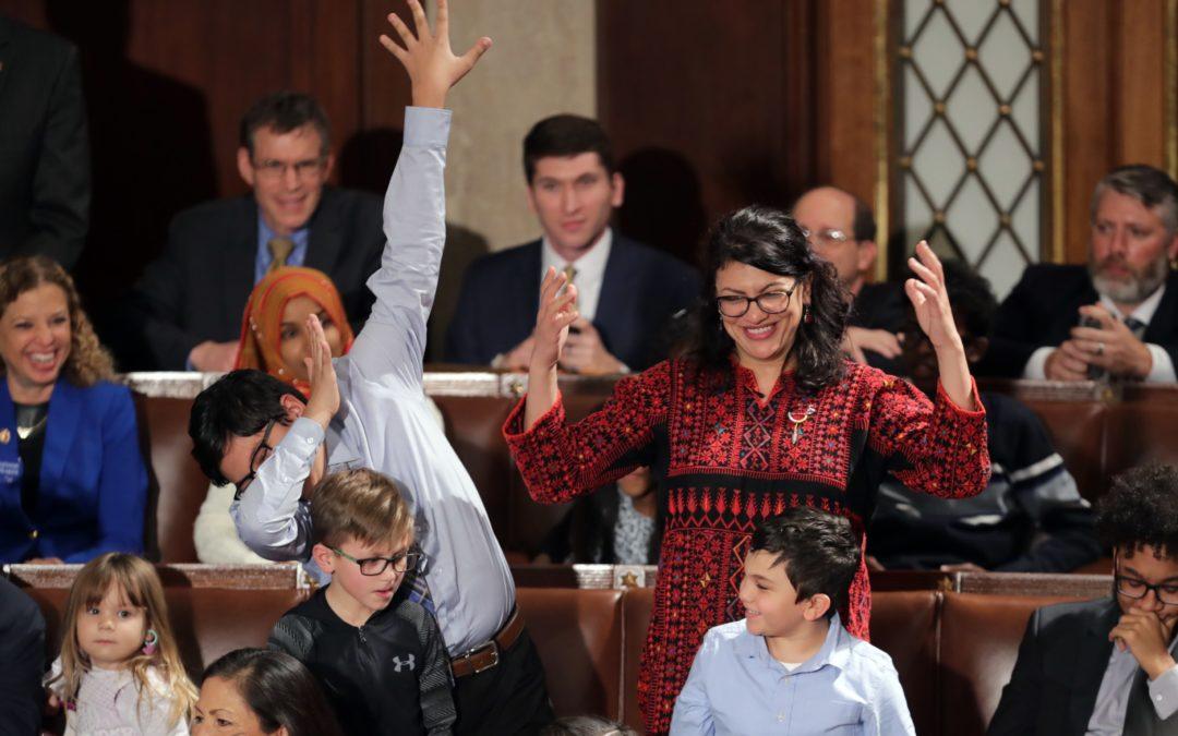 رشيدة طليب: امرأة دخلت الكونغرس بالثوب الفلسطيني وشطبت إسرائيل عن الخريطة بعدما جابهت ترامب