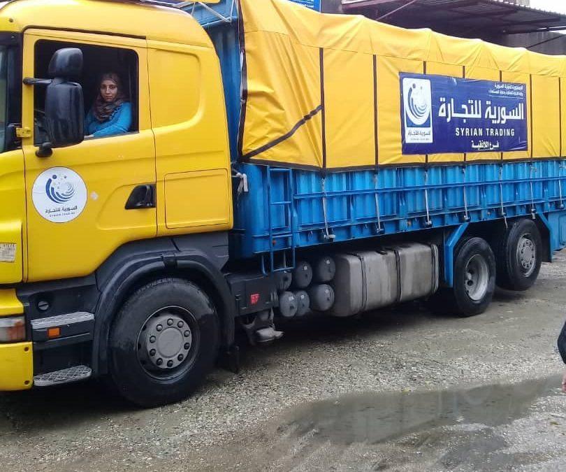 سيدات سوريات ينجحّن بكسر احتكار الرجال لعالم قيادة الشاحنات الثقيلة