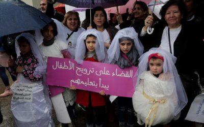 لامبالاة نيابية تجاه قضية تزويج الطفلات في لبنان