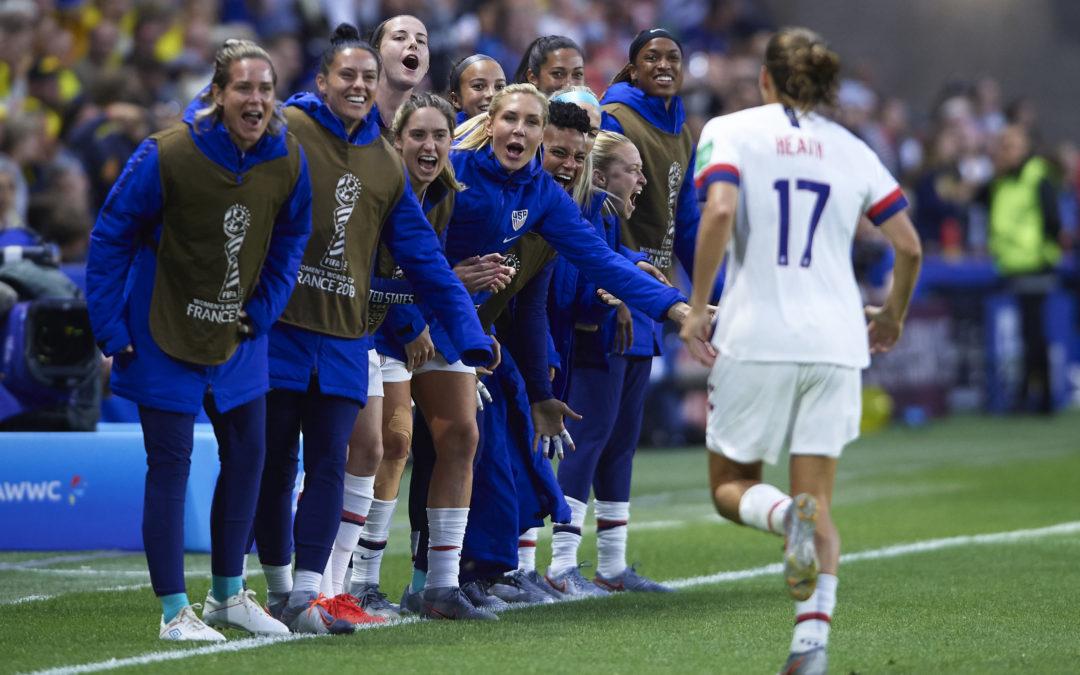 مباريات كأس العالم للسيدات في فرنسا 2019 تواجه تمييزاً جنسياً