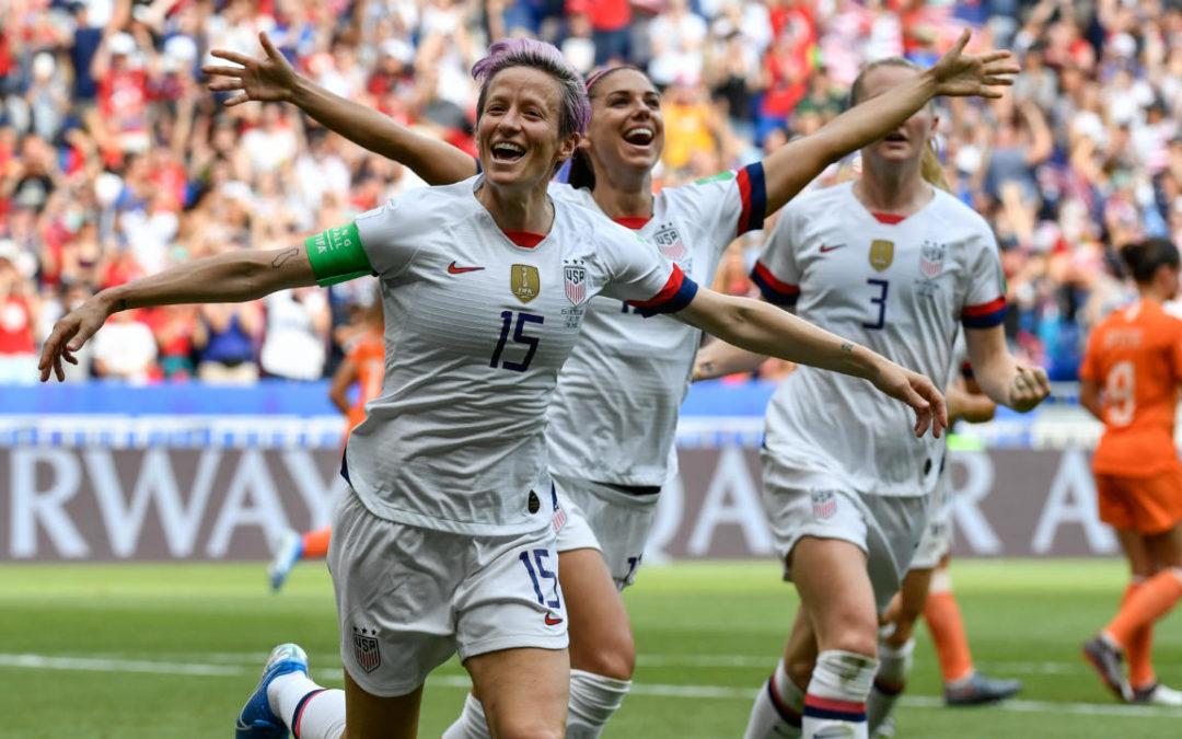 الولايات المتحدة الأميركية تتوج بلقب بطولة كأس العالم للسيدات 2019
