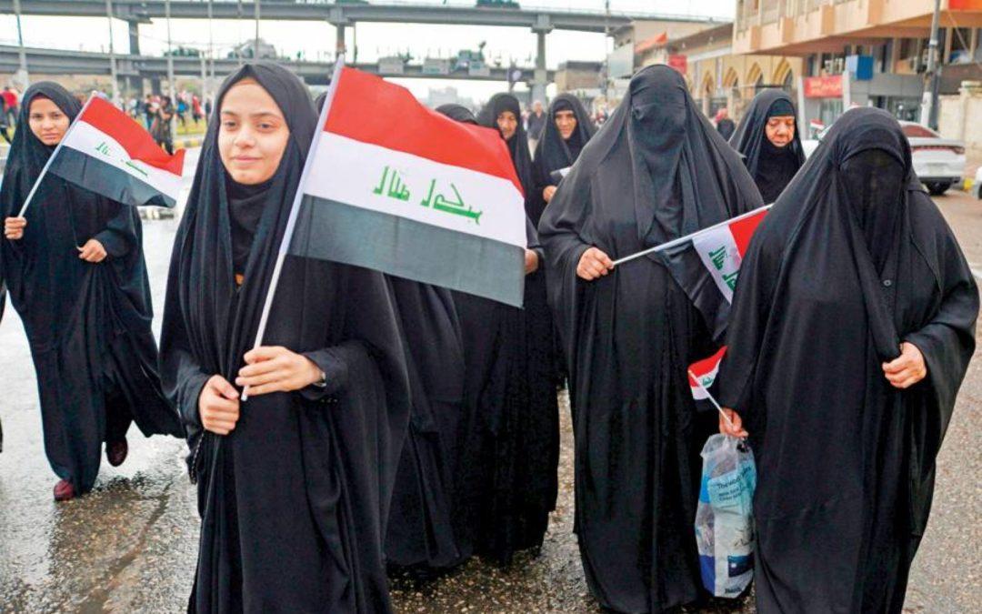الاعتداء على عراقيات لمنعهنّ من المشاركة في التظاهرات الاحتجاجية في البلاد