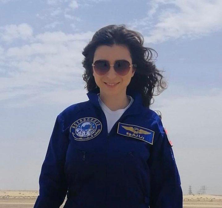 هل تصل اللبنانية رنا نقولا إلى الفضاء؟