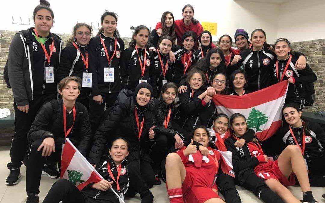 بطلات لبنانيات يخطفن لقب غرب آسيا ٢٠١٩ في كرة القدم