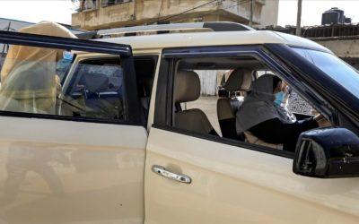 تجاوزت كلّ القيود والعقبات ونجحت بأن تصبح أوّل سائقة سيارة أجرة في قطاع غزة