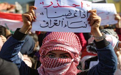 عناصر عراقية مسلحة تعتدي بالضرب المبرح على نساء عاملات في مركز تدليك