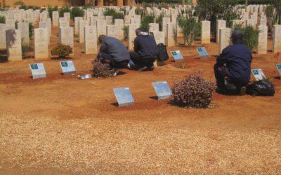 ليبيا تمنع النساء من زيارة المقابر!