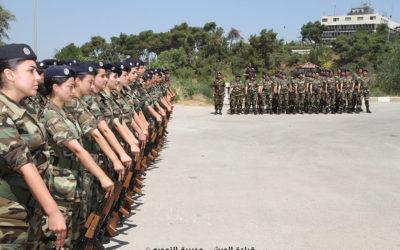 خطوات إيجابية نحو مشاركة النساء في قطاعي الأمن والدفاع في لبنان